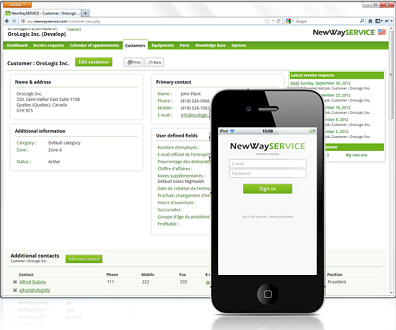 newwayservice work order software free support free trial