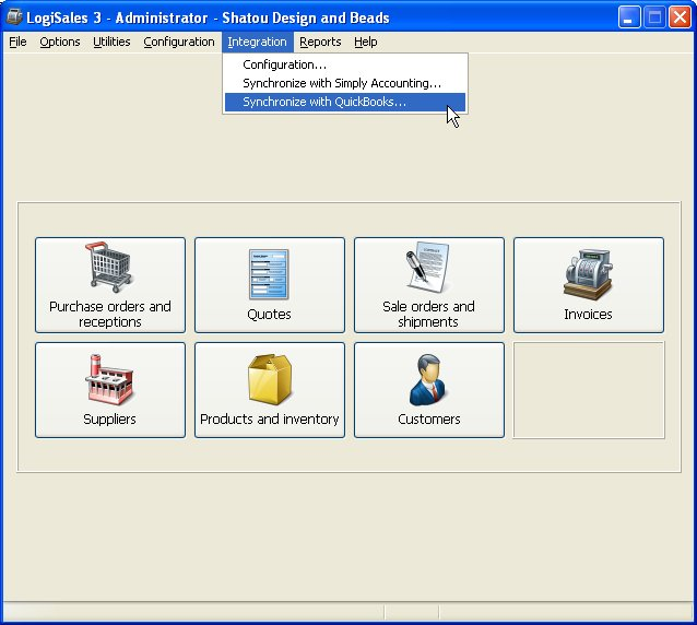 Click to view LogiSales 3.04 screenshot