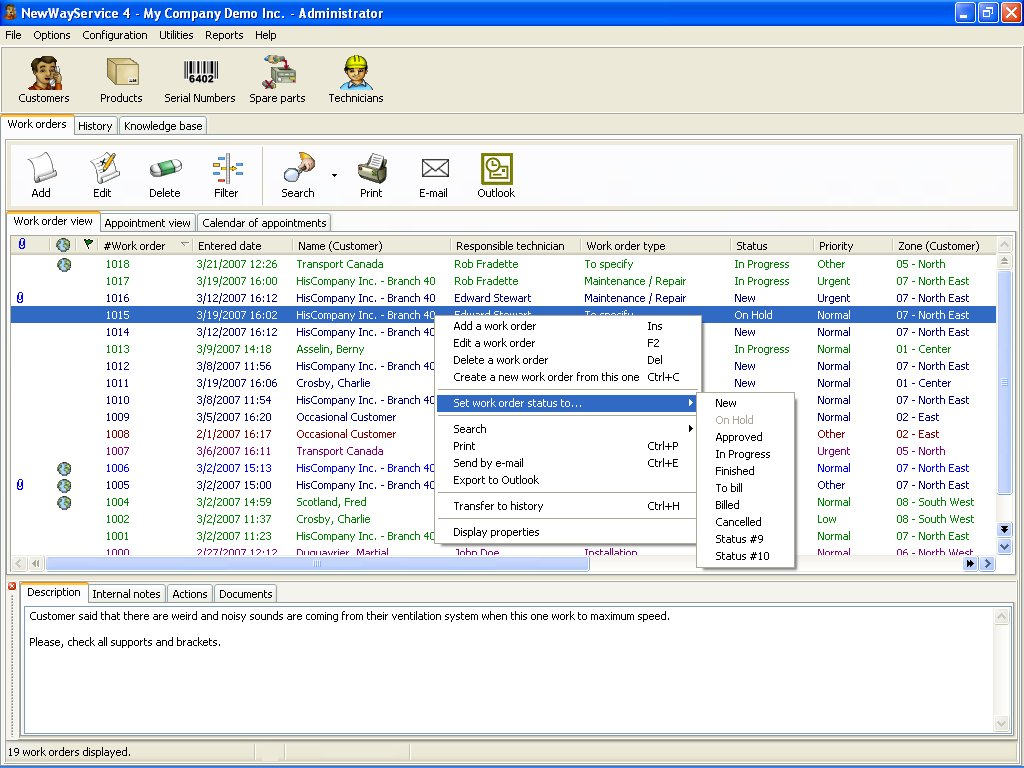 Click to view NewWayService 4.22 screenshot